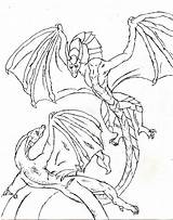 Dragon Coloring Pages Flower Protector Treasure sketch template
