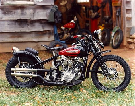 Harley Davidson 1948 Panhead Bobber
