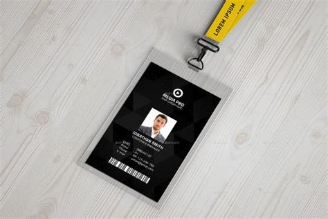 id card templates word psd ai pages