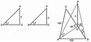Abc Is A Triangular Park With Ab   Ac   100 Meters  A Clock