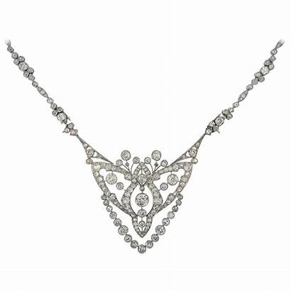 Cartier Deco Jewelry Necklace Diamond 1920s Necklaces