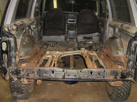jeep floor pan replacement rear floor pan replacement jeep forum