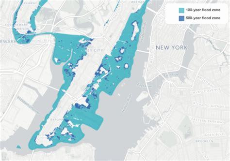 Jersey City Flood Map