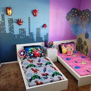 14 best images about shared spaces on pinterest window With boy and girl bedroom ideas