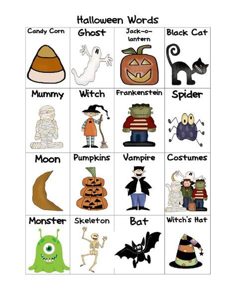 halloween word freebie halloween words halloween