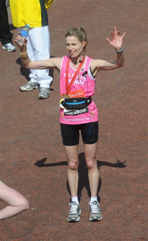 kate mccann kate mccann  virgin london marathon