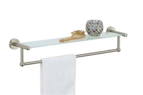 bathroom towel bar ideas white bathroom shelf with towel bar astonishing