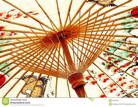 traditional asian umbrella stock photography image