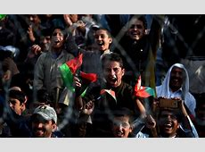 In pictures Afghan cricket team receives hero's welcome