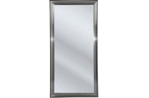 miroir kare design frame argent 233 180x90cm miroir declikdeco ventes pas cher