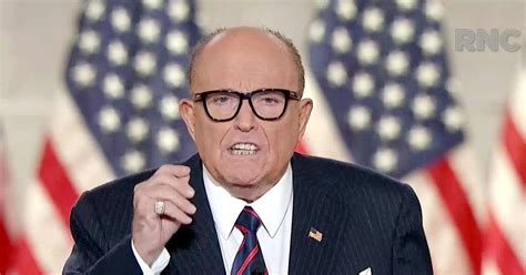 Not that i dislike arnold, but come on, politically, giuliani would know a lot more than mr. Rudy Giuliani slams Black Lives Matter in RNC speech