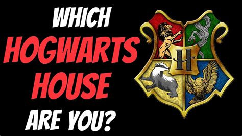 hogwarts house    personality test youtube