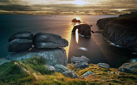 bing theme  photography landscape view   sunset