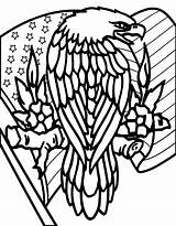 Downloads Coloring Success Patriotic Eagle sketch template