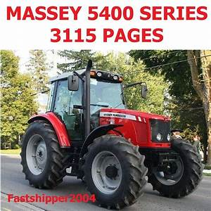 Massey Ferguson Mf 5400 Tractor Shop Service Manual