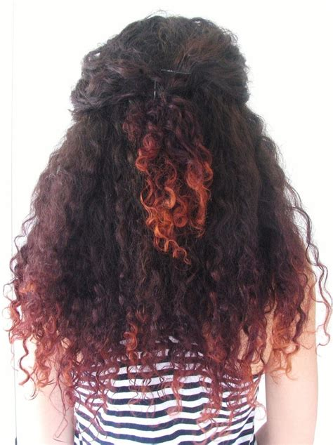 25 Beautiful Dyed Curly Hair Ideas On Pinterest Blonde