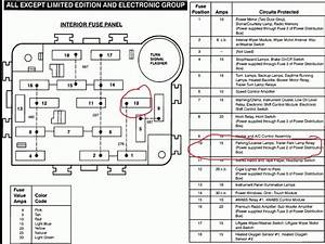 2002 Ford Explorer Xlt Power Distribution Box Diagram