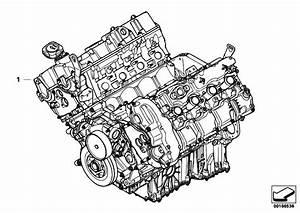 Original Parts For F01 750i N63 Sedan    Engine   Short