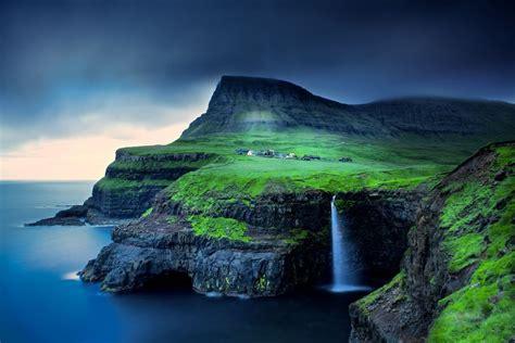 Gasadalur waterfall, Faroe Islands Photo by Trevor Cole