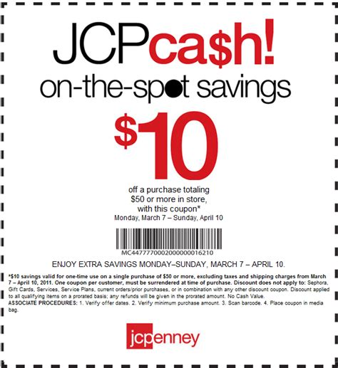 05997 Penneys Coupons 20 by Jc Coupon April 2011 Dealsdango Real Deals