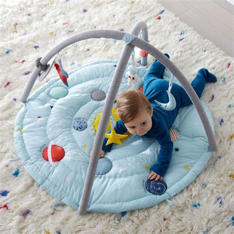 outer space baby activity gym reviews crate  barrel