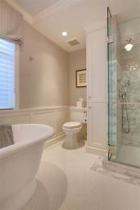 Benjamin moore collingwood bathroom traditional with flush