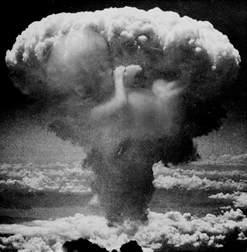 Little Boy Atomic Bomb Explosion
