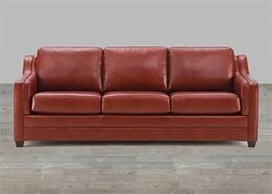 brown top grain leather sofa With best leather sofa