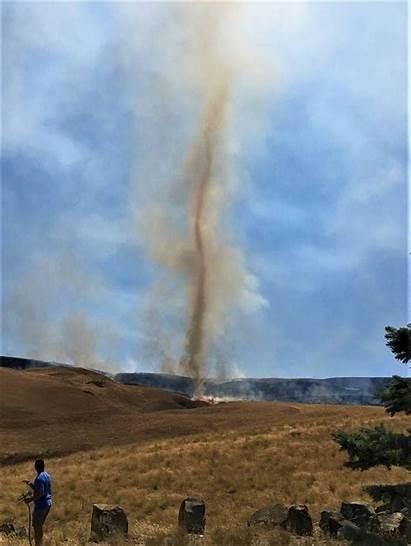 Fire Tornado Tornadoes Tri Formed Road South