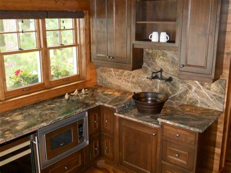 rainforest green marble kitchen rustic kitchen