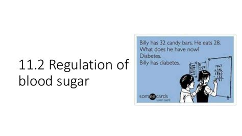 chapter  part  blood sugar homeostasis