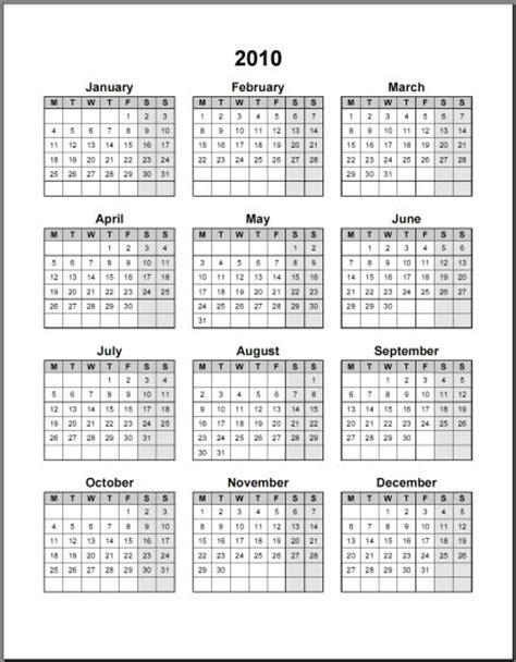 calendari annuali word da stampare elettroaffariit