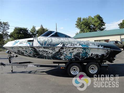 Boat Shrink Wrap Spokane by 20 Best Boat Wraps Custom Vinyl Images On