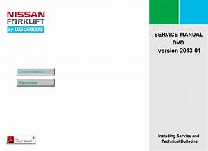 Nissan Forklift Service Manuals 2013 Download