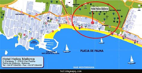 map  palma de mallorca holidaymapqcom