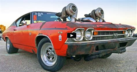 Turbocharged Drag Cars by Sick Turbo Chevy Chevelle At Drag Week 2016 Cars