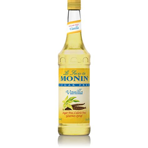 Use wherever a recipe calls for simple syrup. Monin Vanilla Sugar Free Syrup - Tidewater Coffee