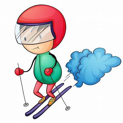 Ski Clipart Board Skis Clip Skiing Transparent