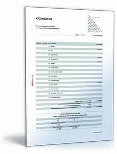 Kfz Kosten Berechnen : werbungskosten berufliches kfz rechentabelle zum download ~ Themetempest.com Abrechnung