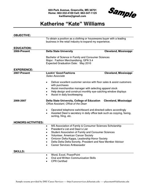 description of a sales associate for a resume resume