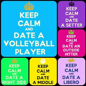 volleyball posi... Setter And Hitter Quotes