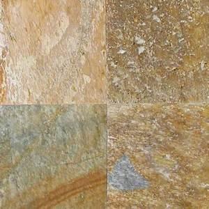 Golden White Quartzite Quartzite 12x12 Gauged Tile - Mosaics