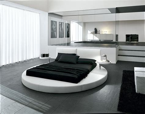 Black Leather Headboard Double by Nice Decors 187 Blog Archive 187 Beautiful Beds In Round Shape