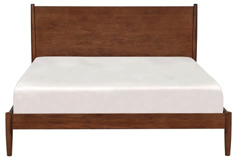 Eastern King Platform Bed by Alton Cherry Eastern King Platform Bed Living Spaces