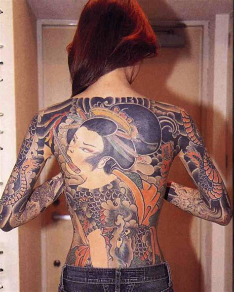 foto de 35 Delightful Yakuza Tattoo Ideas Traditional Totems