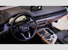 Audi Q7 Virtual Cockpit brings new display to SUV at CES