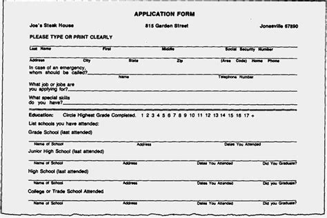 Forms Of Resumes by Blank Resume Forms To Fill Out Blank Resume Forms To