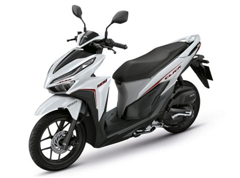 Pcx 2018 Thailand Price by 2018 Honda Click 150i And 125i Now In Thailand Pricing