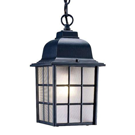 home depot outdoor hanging lights acclaim lighting nautica collection 1 light matte black