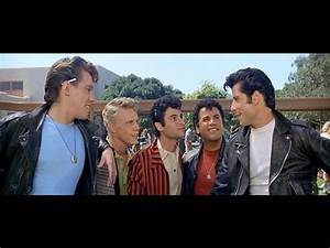 the T-birds - Kenickie, Putzie, Sonny, Danny   Grease ...